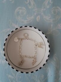 Genuine Thomas Sabo Charm Bracelet with charms