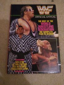 WWF Official Annual (1993?)