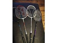 Badminton rackets for sale
