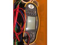 Electrical tester multifunction megger