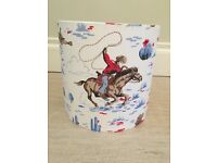 Cath Kidston cowboy lamp shade - blue & red (LIMITED EDITION)