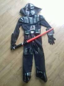 Darth Vader Costume Age 5-10