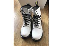 White Patent Dr Marten boots