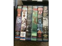 Vhs videos tapes THE WAR FILES