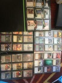 HUGE MAGIC THE GATHERING CARD LOT RARES 900+ mythic gold foil no offers 50+planeswalkers