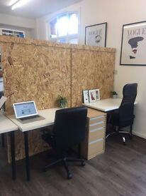 Desks 1-5 to rent in Brick Lane, Shoreditch