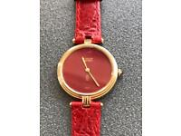 Must De Cartier Vermeil 925 Gold Plated Watch