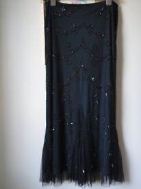 Planet evening skirt.
