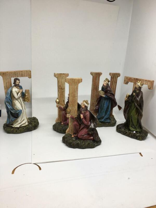 """""""As is"""" 5-Piece Nativity Scene Sentiment by Valerie"""