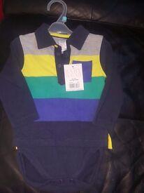 Boys miniclub shirt/vest BNWT