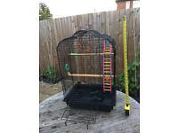 Parrot cockatiel cage