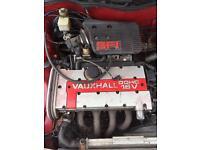 C20xe RedTop engine Astra cav corsa b204