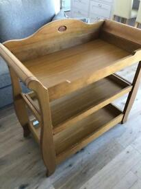 Boori solid wood changing table. Great used condition
