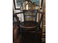 Wonderful Classic Vintage Thonet Bentwood Office Desk Armchair