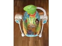 Fisher Price - Space Saver Swing & Seat