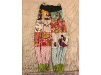 Women's Floral Harem Trousers
