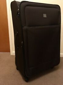 SUITCASE -TRIPP Large Lightweight nylon with 4 Easy glide wheels + TSA lock
