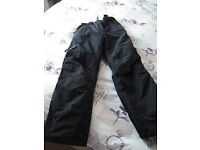 Women's - Youth's waterproof trousers (lined)