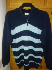 Lacoste jumper size 4