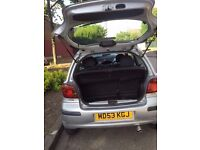Toyota yaris 2004 reg, semi-Automatic ,Power steering,DVD Player,low millage