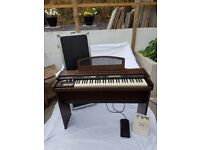 Hammond XK-2 Organ with Flight Case, Home Stand and Swell Pedal