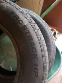 2 winter tyres 185/70/R14
