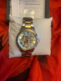 Men's boxed rotary watch