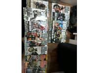 100% biker and back street heros magazines