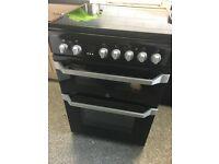 black indesit cooker , indesit dishwasher, indesit washing machine