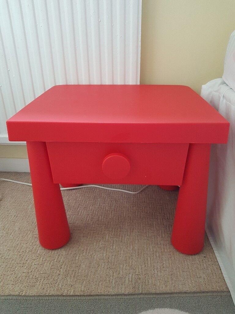 Ikea Mammut Bedside Table
