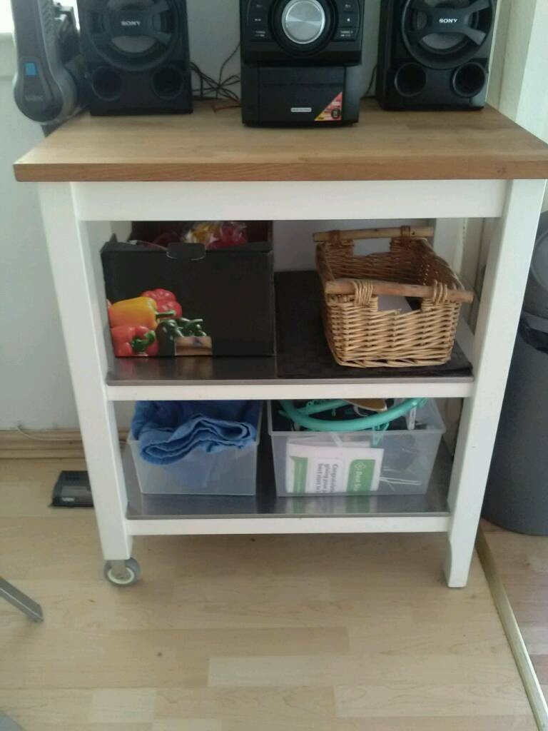 Ikea Butchers Block Table In Cumbernauld Glasgow Gumtree