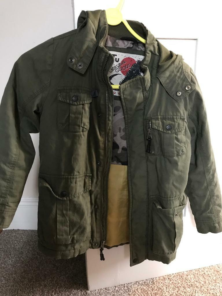 0725efd95 Boys coat 7-8 years