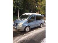 Ford transit tourneo GLX 130 campervan