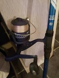 Beech fishing rod for sale weve reel