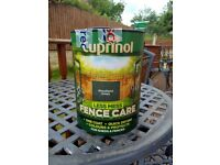 Cuprinol Woodland Green Less Mess Fencecare 5 litres x 7