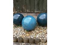 Garden ornament balls