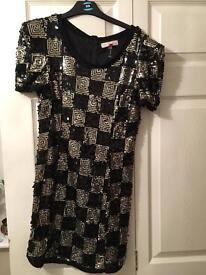 Miso sequin dress size 12