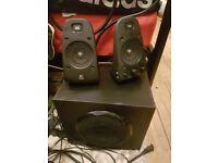 Logitech z623 2.1 speakers,