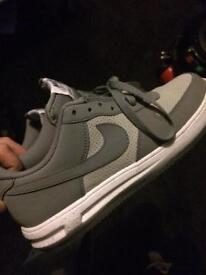 Air Force 1 Lights , Size 7/8 UK Light Grey / White