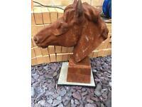 Cast iron horses head 07587 727896