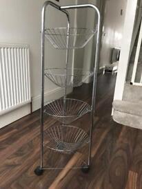 4 tier veg trolley