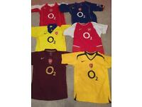 Arsenal shirts for 11-12, 12-14, 13-15 year olds £10 each