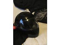 Motor bike helmet XL