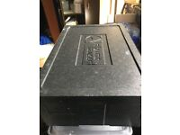 Thermobox Black. Insulated box for HOT and COLD Food