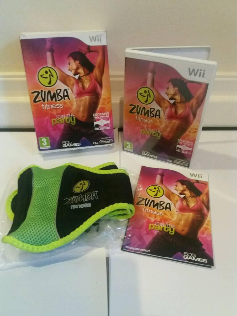Nintendo Zumba fitness Boxed!!A1