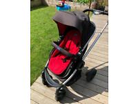 Chicco 3 in 1 travel system, with auto fix car