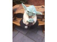 Yoga Star Wars Statue