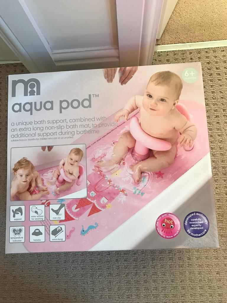 Mothercare aqua pod baby bath support pink | in Corstorphine ...