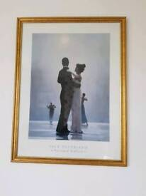 """""""Dance me to the end of love"""" jack vettriano print"""