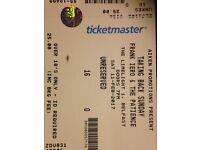 Taking Back Sunday tickets only 2 left!
